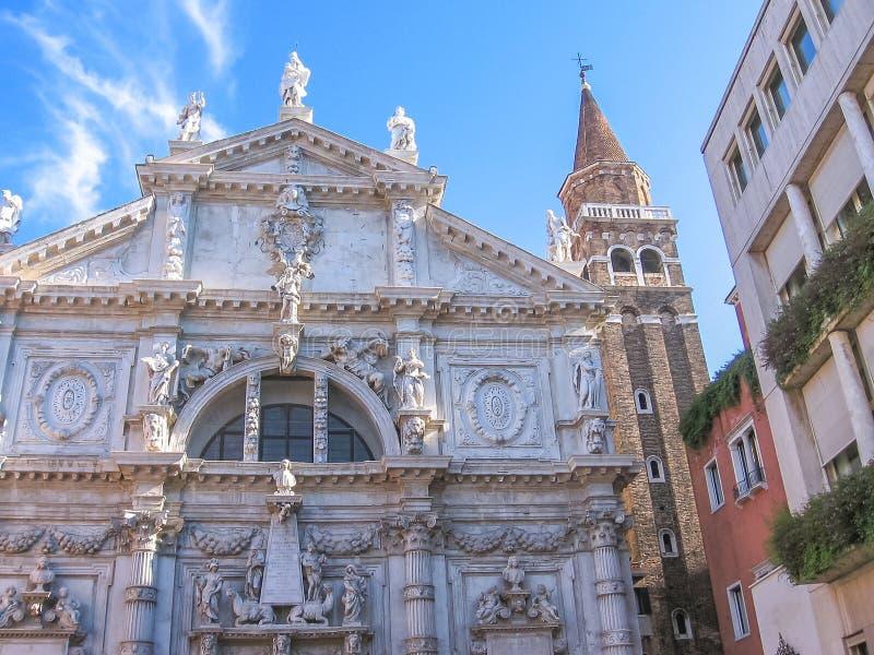 Kirche Sans Moise stockfotografie