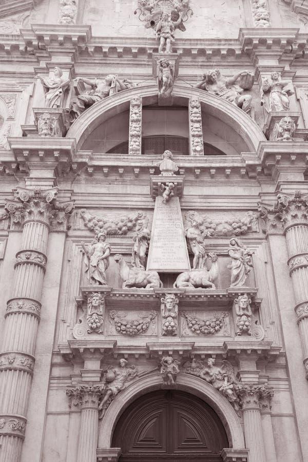 Kirche Sans Moise; Venedig lizenzfreie stockbilder