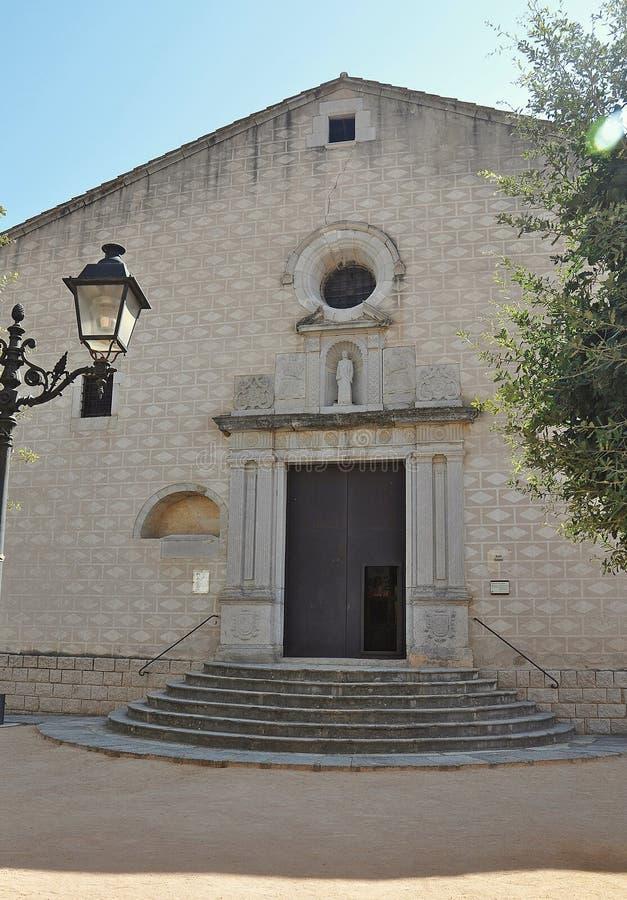 Kirche Sant Esteve, Spanien stockfotografie