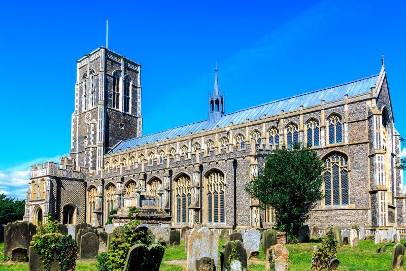Kirche St. Edmunds in Southwold lizenzfreies stockbild