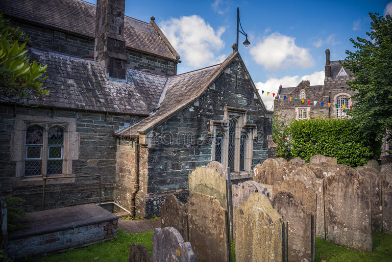 Kirche St. Eustachius - Tavistock, England, Großbritannien lizenzfreies stockbild