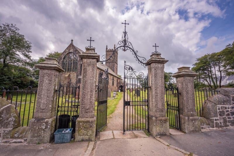 Kirche St. Eustachius - Tavistock, England, Großbritannien lizenzfreies stockfoto