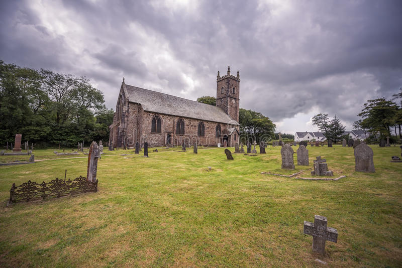 Kirche St. Eustachius - Tavistock, England, Großbritannien lizenzfreie stockbilder