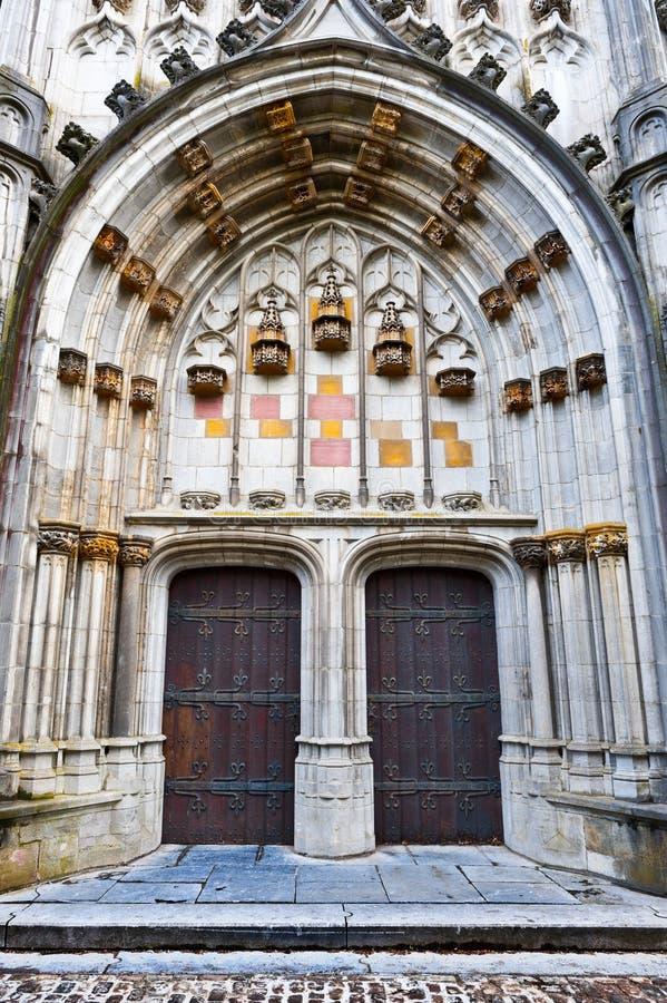 Kirche St.Hubert lizenzfreie stockbilder