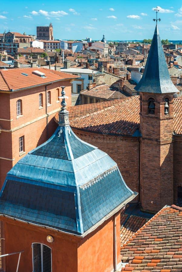 Kirche St Jerome in Toulouse, Frankreich lizenzfreie stockfotografie