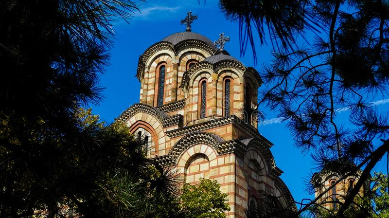 Kirche St Mark, Belgrad lizenzfreies stockfoto