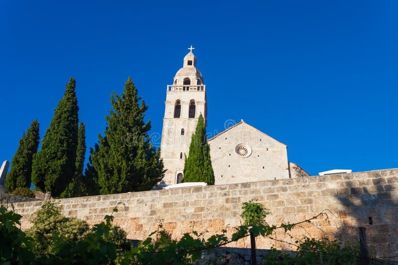 Kirche St. Nikola stockbilder