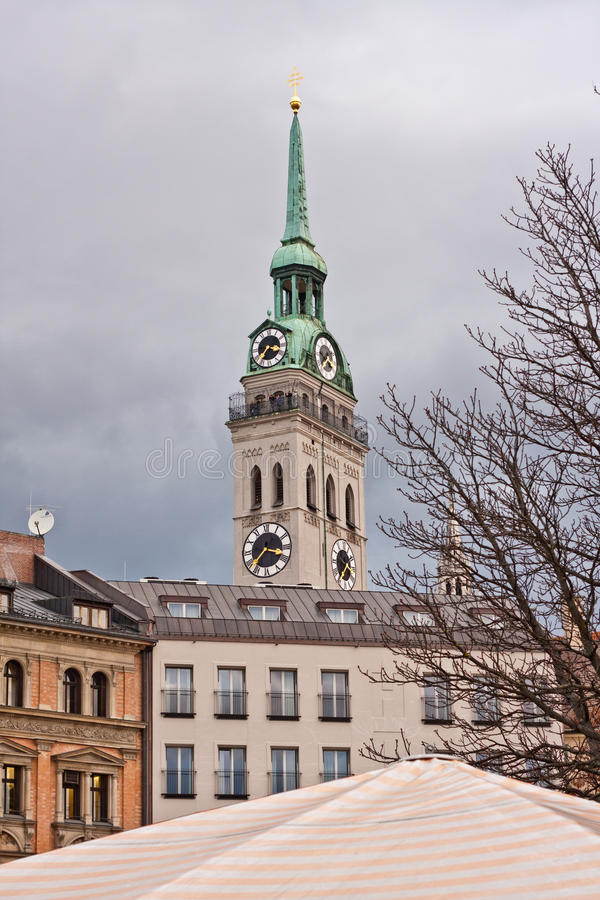 Kirche St.Peter Royalty Free Stock Image