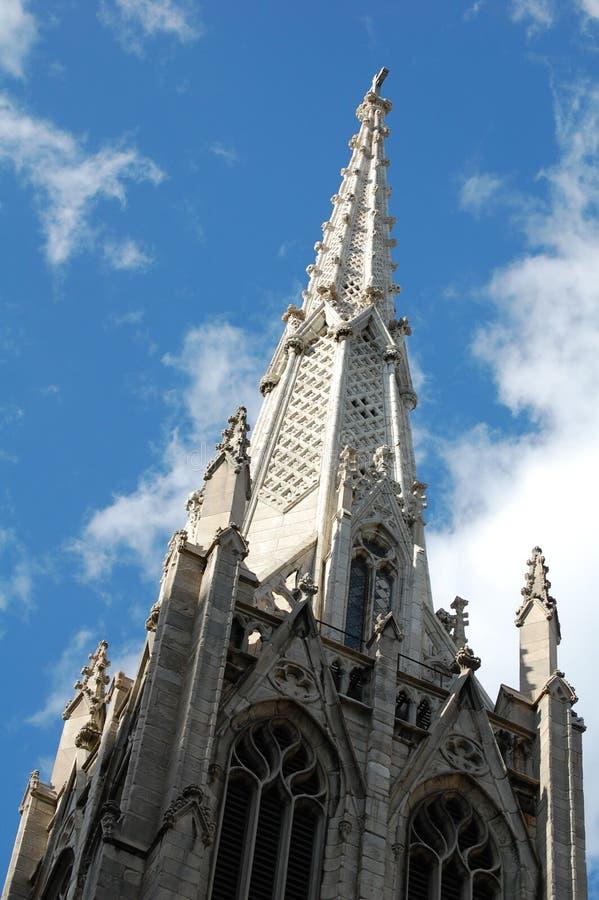 Kirche Steeple stockbilder