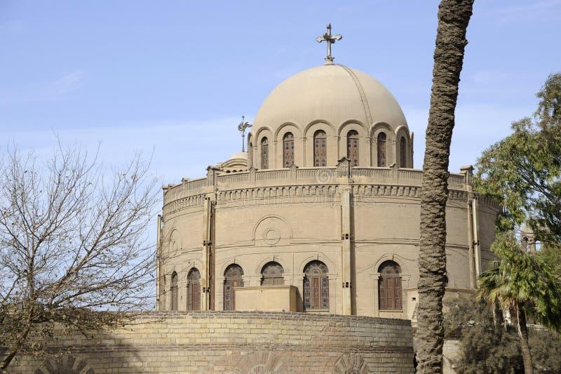 Kirche Str.-Georges (Ägypten) lizenzfreie stockfotos
