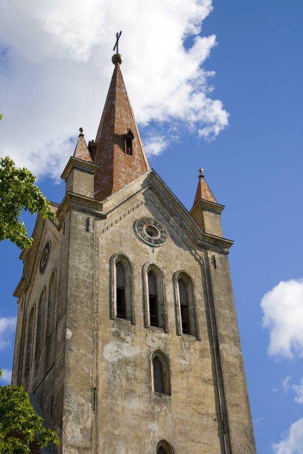 Kirche Str.-Johns in Cesis, Lettland lizenzfreie stockfotografie