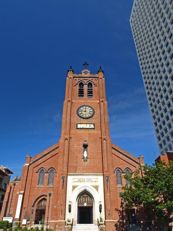 Kirche Str.-Marys von Chinatown in San Francisco stockbild