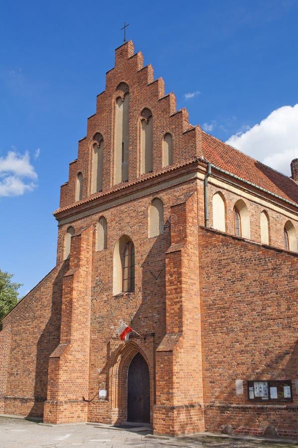 Kirche Str.-Marys, Warschau. stockfoto