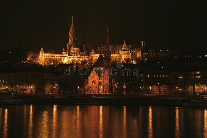 Kirche Str.-Matthias in Budapest stockfotografie