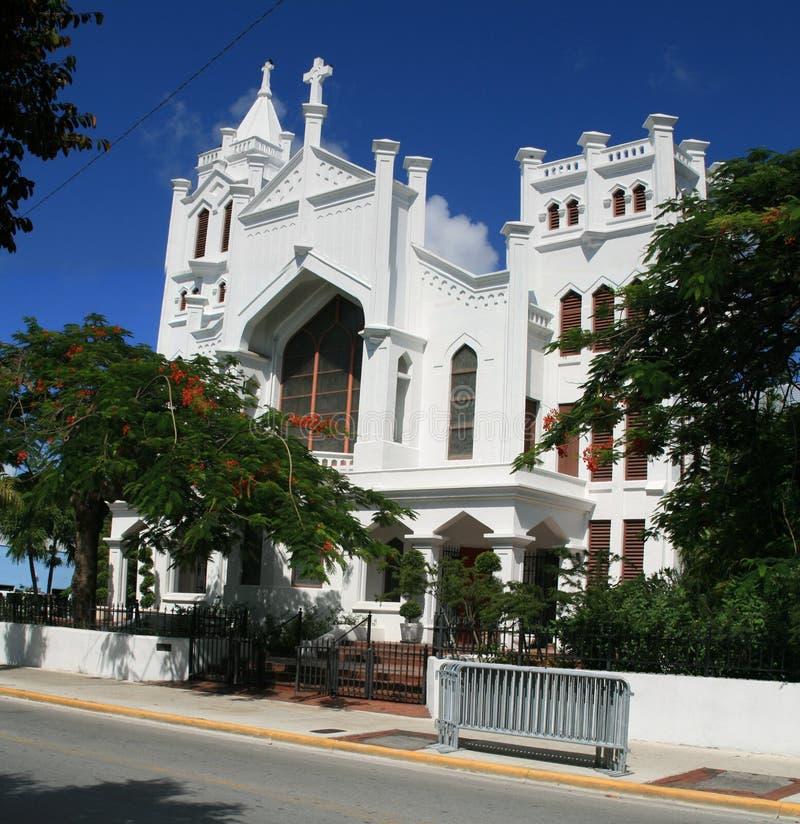 Kirche Str.-Pauls in Key West stockfotografie