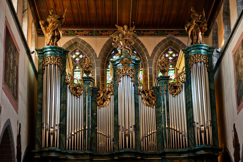 Kirche Str.-Stephans stockfotografie