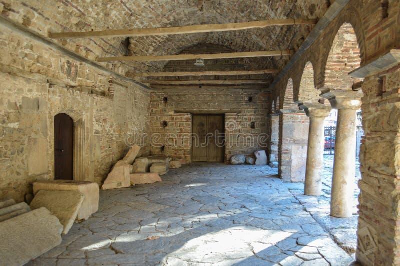Kirche StSophia in Ohrid stockfoto