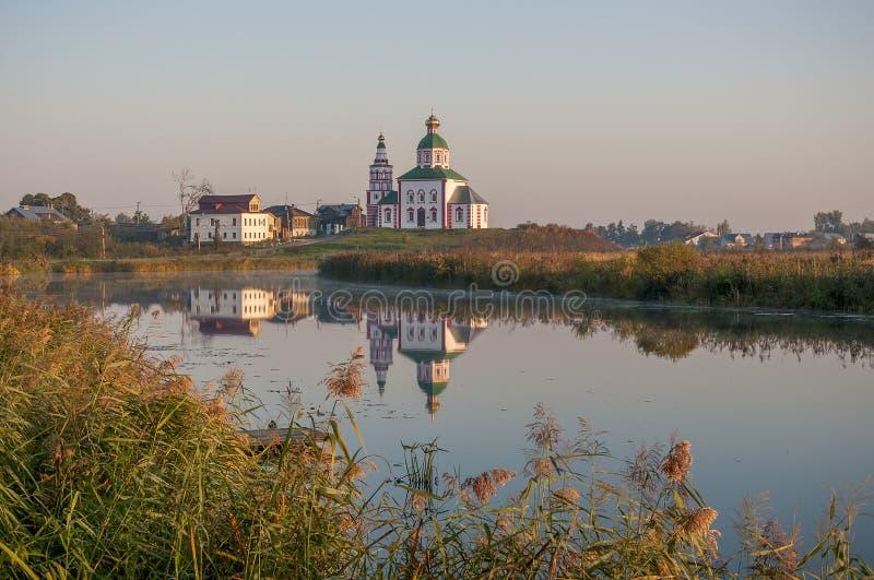 Kirche in Suzdal Goldener Ring von Russland lizenzfreie stockfotos