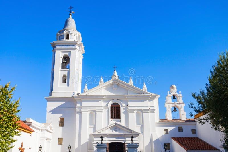 Kirche unsere Dame Pilar stockbild