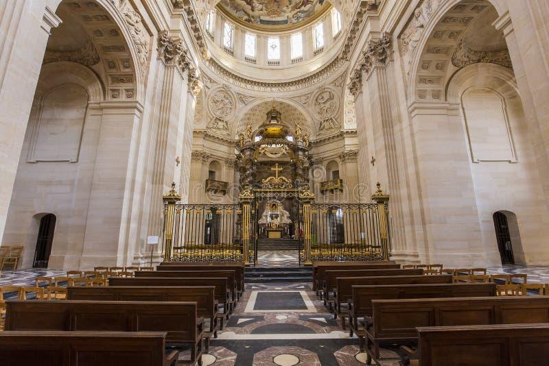 Kirche Val de Graces, Paris, Frankreich stockbilder