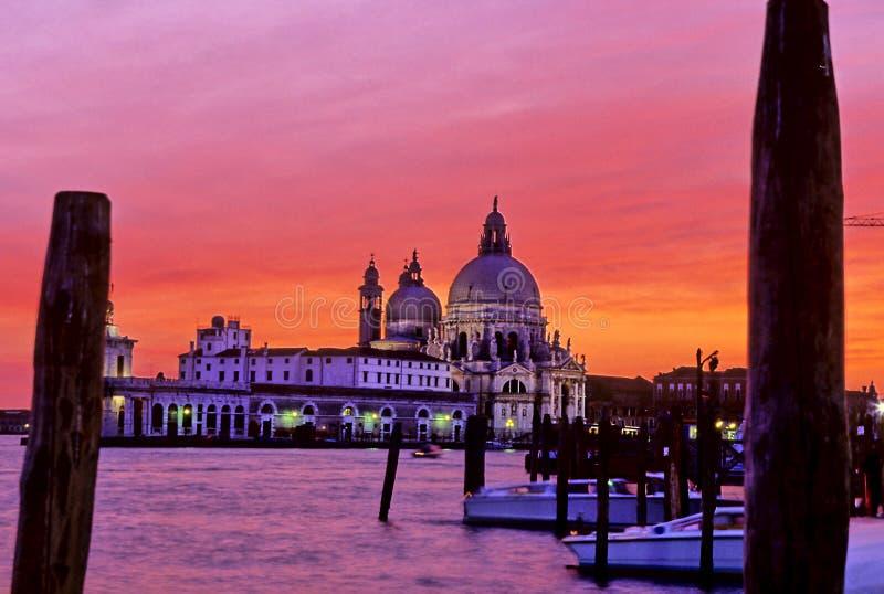 Kirche Venedig, Italien stockbilder