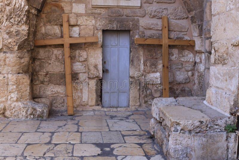 Kirche vom heiligen begraben, Jerusalem lizenzfreies stockfoto