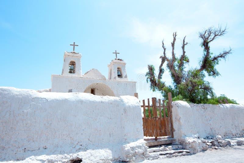 Kirche von Chiu Chiu stockfotos