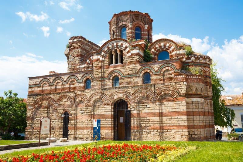 Kirche von Christus Pantocrator, Nesebar, Bulgarien stockfoto