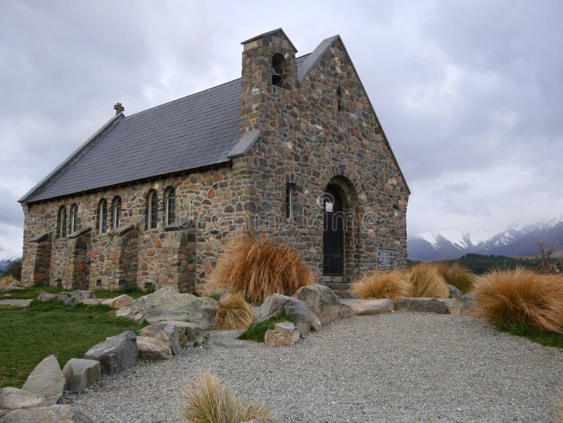 Kirche von der gute Hirte lizenzfreie stockfotos