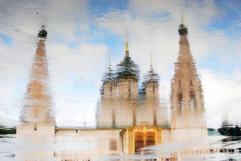 Kirche von Elojah der Prophet in Yaroslavl, Russland lizenzfreies stockfoto