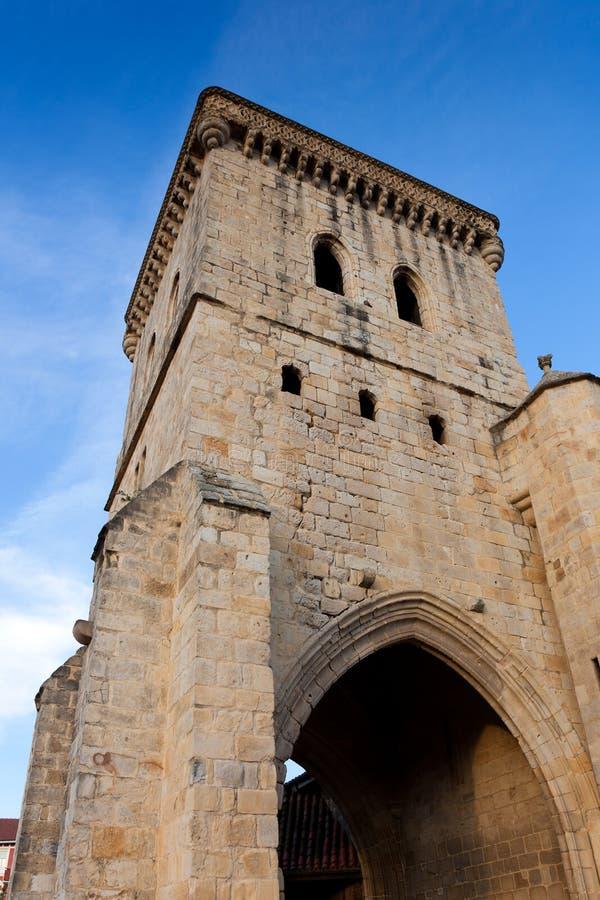 Kirche von Erandio stockfotografie