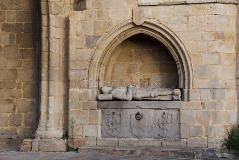 Kirche von Erandio lizenzfreies stockfoto