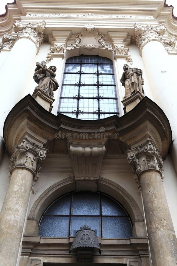 Kirche von Heiligen Cyril und Methodius stockbild