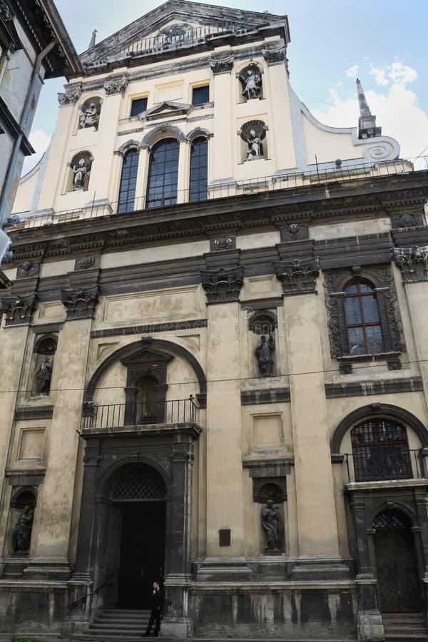 Kirche von Jesuiten stockfotografie
