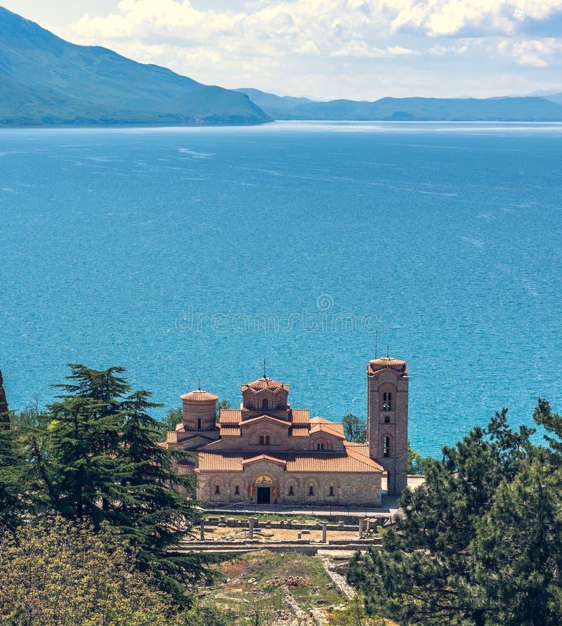 Kirche von Johannes - Ohrid lizenzfreie stockfotografie