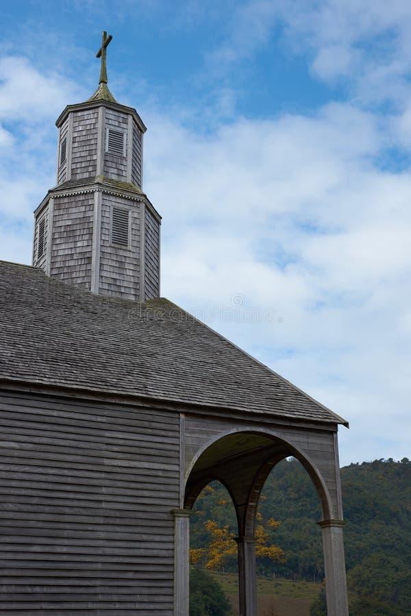 Kirche von Quinchao - Chiloe - Chile stockbild