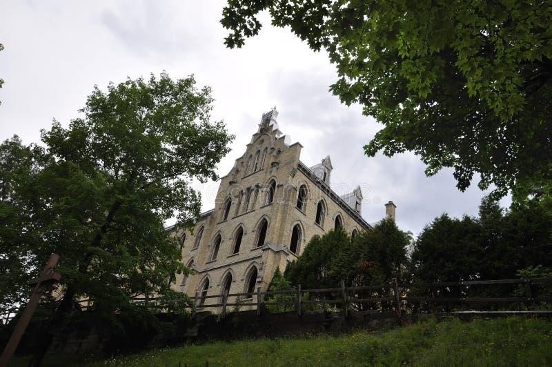 Kirche von Sainte Anne de Baupre Sanctuary von Quebec lizenzfreie stockfotografie