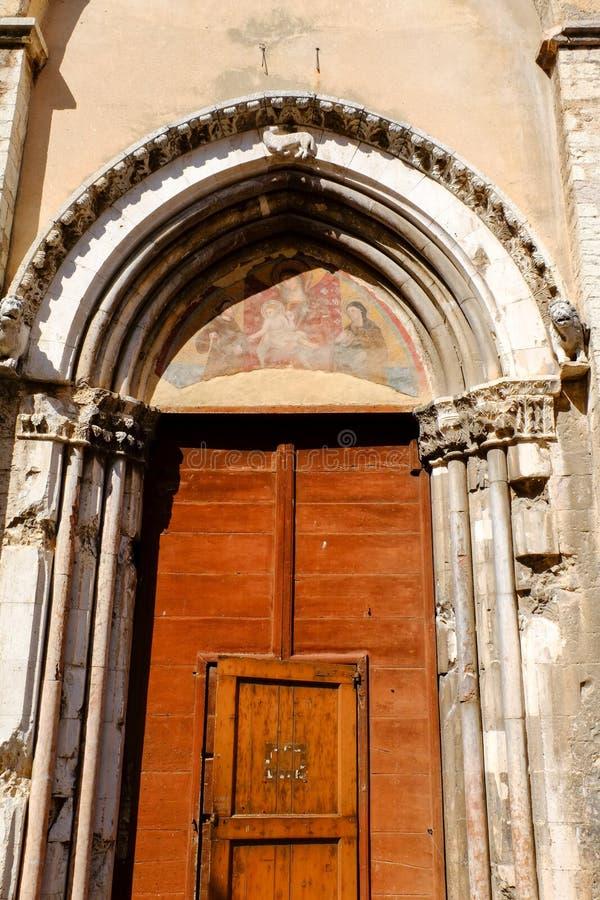 Kirche von San Francesco in Trevi lizenzfreies stockbild