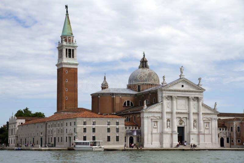 Kirche von San Giorgio Maggiore stockbild