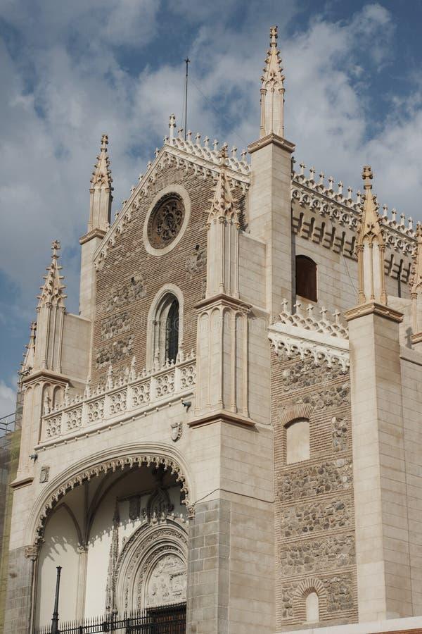 Kirche von San Jeronimo lizenzfreie stockbilder