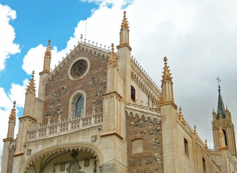 Kirche von San Jeronimo El Real stockfoto