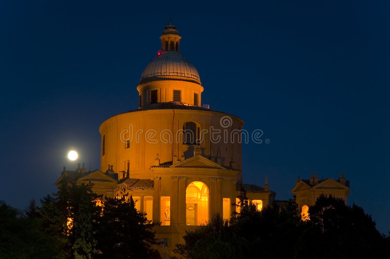 Kirche von San Luca im Bologna lizenzfreie stockfotos