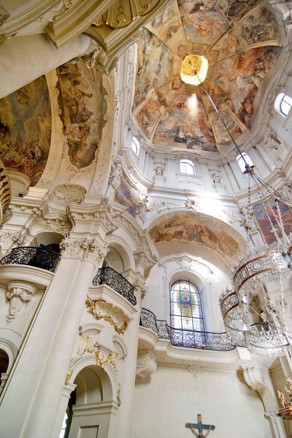 Kirche von Sankt Nikolaus stockfotos