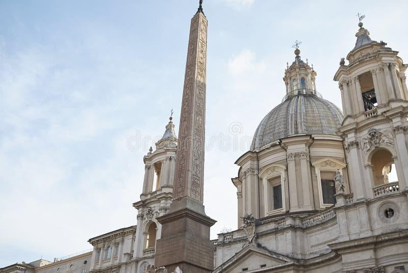 Kirche von Sant Agnese in Agone stockfoto