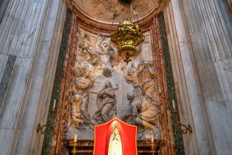 Kirche von Sant-` Agnese - Rom, Italien lizenzfreie stockfotos