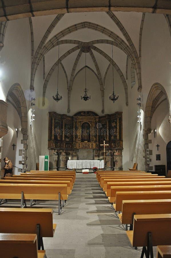 Kirche von Sant Sadurnà lizenzfreies stockbild