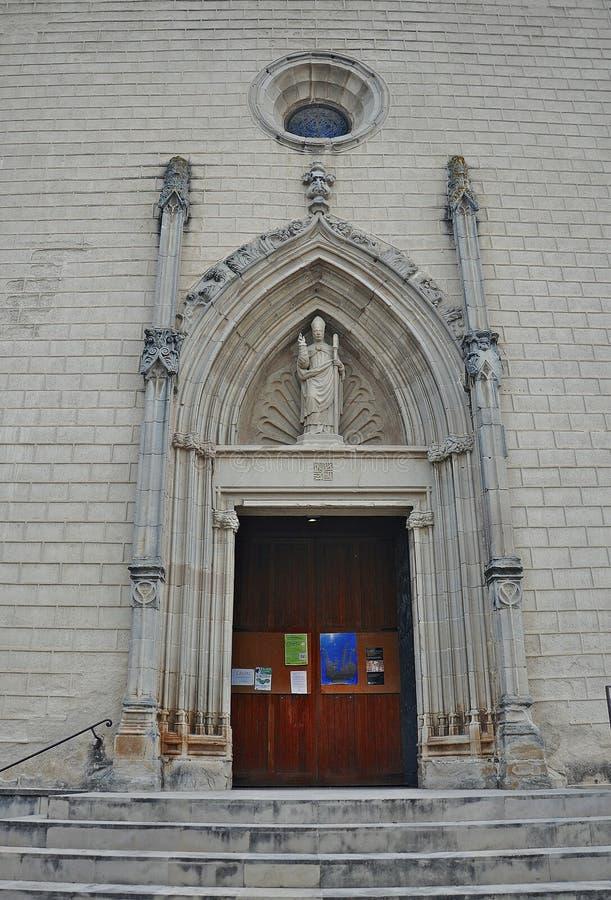 Kirche von Sant Sadurnà lizenzfreie stockfotos