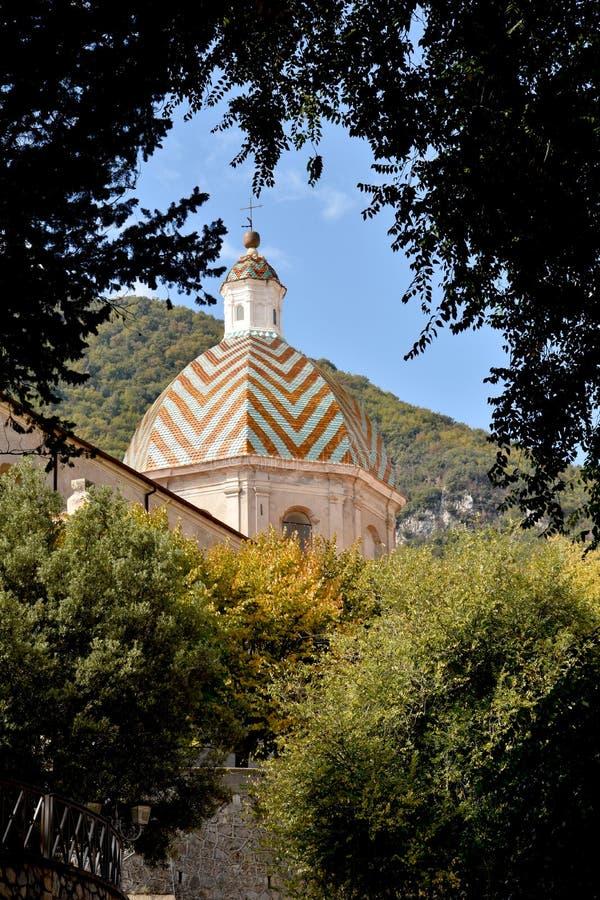 Kirche von Santa Maddalena, Morano Calabro stockfotos