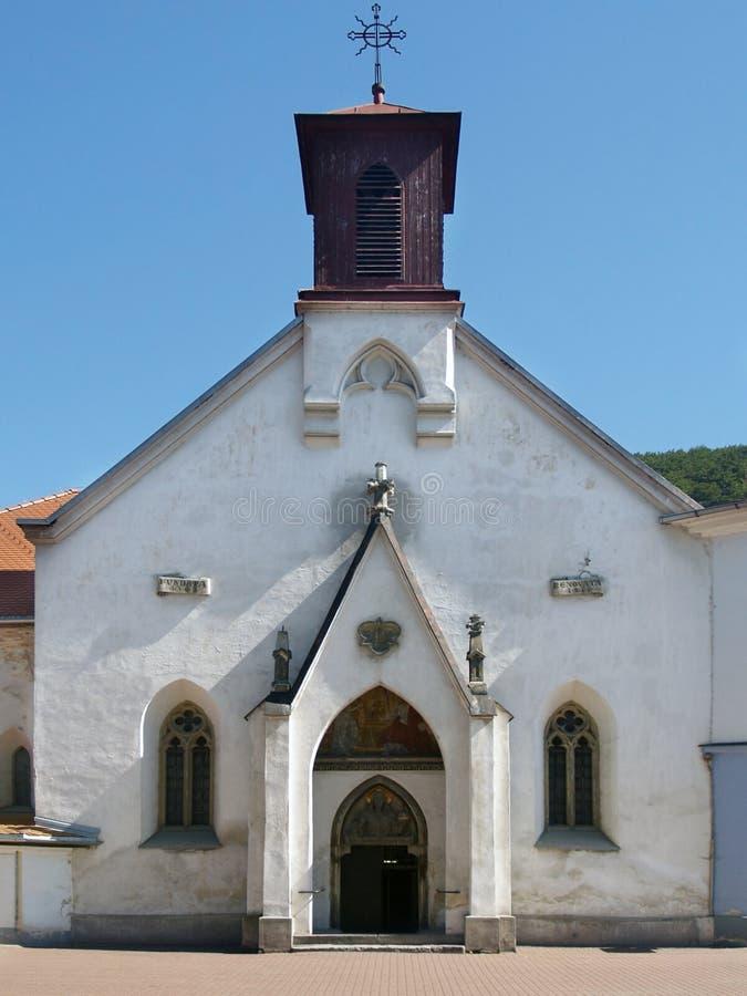 Kirche von St. Elizabeth in Banska Bystrica stockfotografie