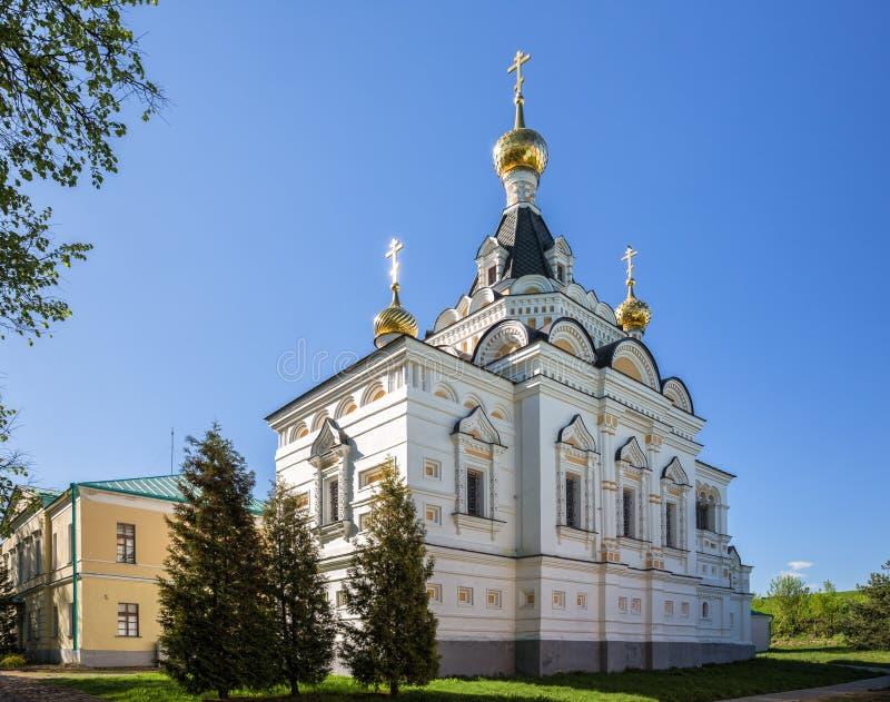 Kirche von St. Elizabeth in Dmitrov der Kreml stockfotografie